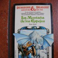 Libros antiguos: DUNGEONS AND DRAGOSN Nº 2 LA MONTAÑA DE LOS ESPEJOS; ROSE ESTES. Lote 131194480