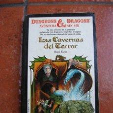 Libros antiguos: DUNGEONS AND DRAGOSN Nº 1: LAS CAVERNAS DEL TERROR; ROSE ESTES. Lote 131194624