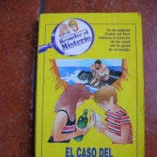 Libros antiguos: RESUELVE EL MISTERIO Nº 16; EL CASO DEL FALSO NAUFRAGO. Lote 131194908