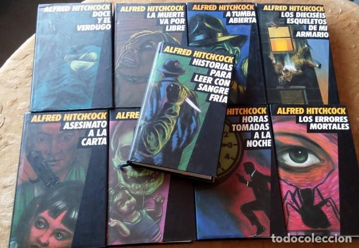 LOTE ALFRED HITCHCOCK COLECCIÓN DE LIBROS CÍRCULO DE LECTORES *LEER DESCRIPCIÓN* (Libros antiguos (hasta 1936), raros y curiosos - Literatura - Terror, Misterio y Policíaco)