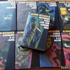 Libros antiguos: LOTE ALFRED HITCHCOCK COLECCIÓN DE LIBROS CÍRCULO DE LECTORES *GASTOS DE ENVÍO 22 EUROS*. Lote 131560234