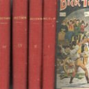 Libros antiguos: DICK TURPIN COMPLETO 4 TOMOS (SOPENA, C. 1925). Lote 132010722