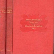 Libros antiguos: PONSON DU TERRAIL : HAZAÑAS DE ROCAMBOLE - DOS TOMOS (SOPENA, C. 1930) . Lote 132011902