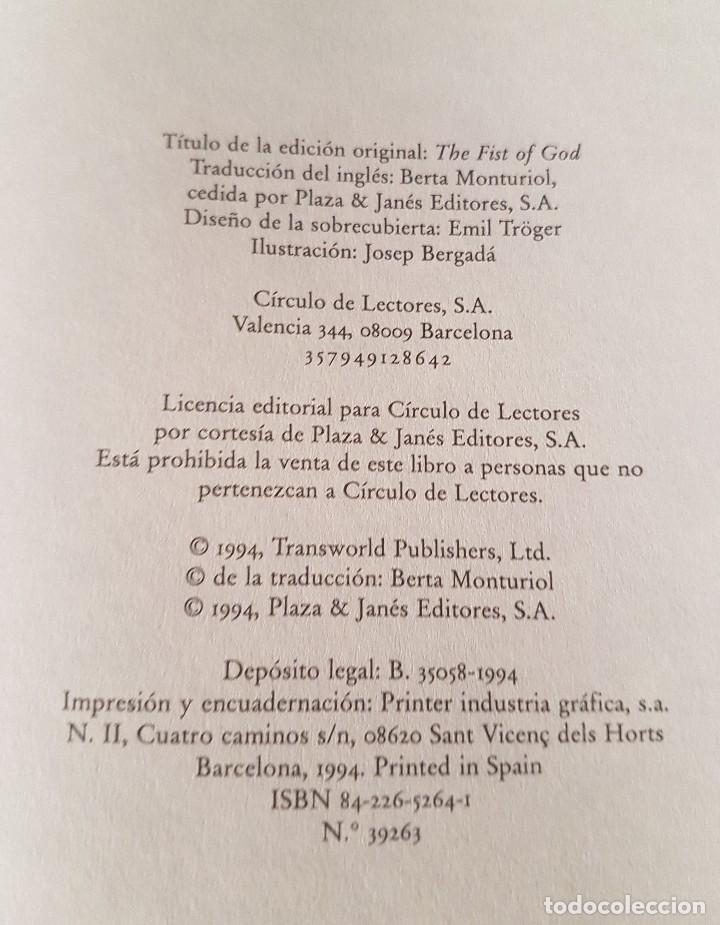 Libros antiguos: El puño de Dios - Foto 4 - 132678402