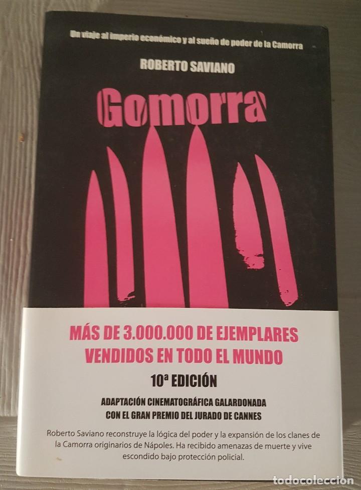 GOMORRA ROBERTO SAVIANO (Libros antiguos (hasta 1936), raros y curiosos - Literatura - Terror, Misterio y Policíaco)
