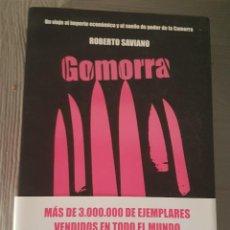 Libros antiguos: GOMORRA ROBERTO SAVIANO . Lote 132678750
