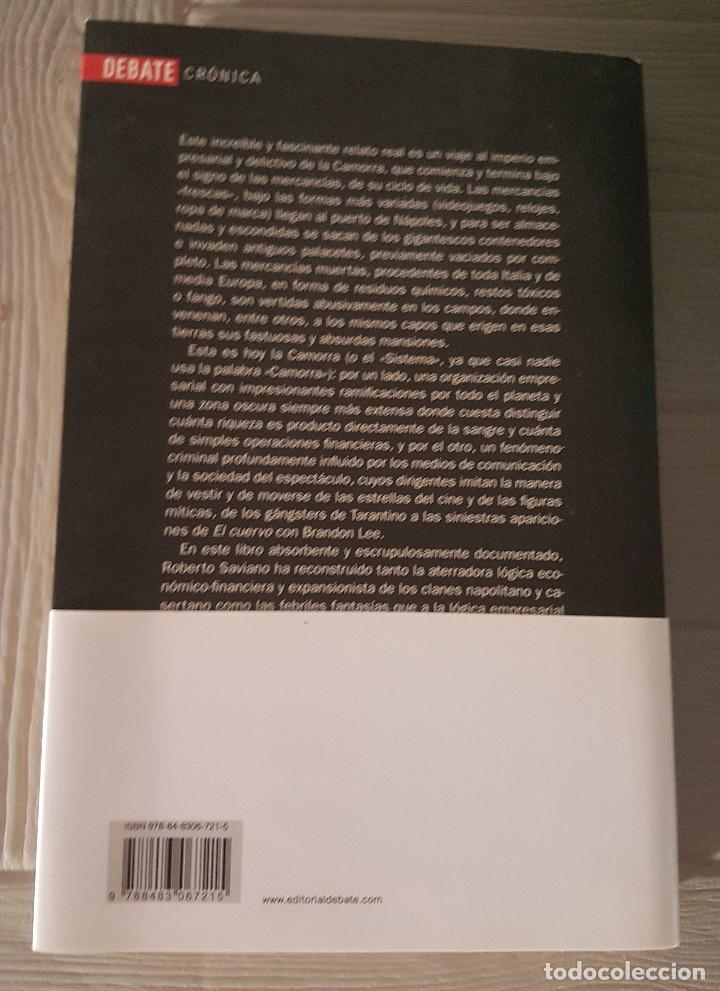 Libros antiguos: Gomorra Roberto Saviano - Foto 2 - 132678750
