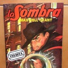 Libros antiguos: LA SOMBRA Nº 8 - EL HOMBRE DE NEGRO - MAXWELL GRANT . Lote 132696314