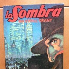 Libros antiguos: LA SOMBRA Nº 4 - LA AMENAZA ROJA - MAXWELL GRANT . Lote 132696346