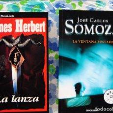 Libros antiguos: JAMES HERBERT Y SOMOZA. Lote 133687446