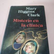 Libros antiguos: MISTERIO EN LA CLÍNICA - HIGGINS CLARK, MARY CIRCULO LECTORES REF. GAR 10. Lote 134139246
