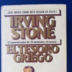 Libri antichi: EL TESORO GRIEGO IRVING STONE PRIMERA EDICIÓN PLAZA & JAMES 1974. Lote 134231834