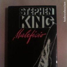 Libros antiguos: LIBRO DE STEPHEN KING MALEFICIO EDICION CIRCULO DE LECTORES AÑO 1984. Lote 135061462