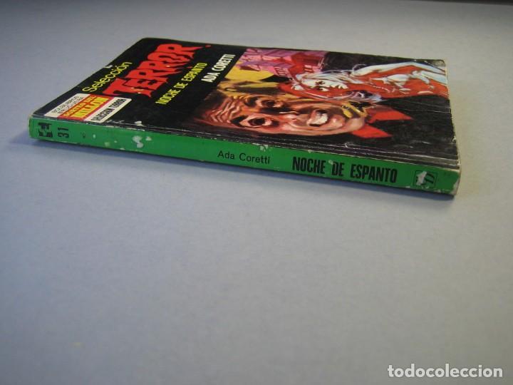 Libros antiguos: SELECCION TERROR 1ª EDICIÓN Nº 31 BRUGUERA/NOCHE DE ESPANTO/ 1973. - Foto 3 - 135447086