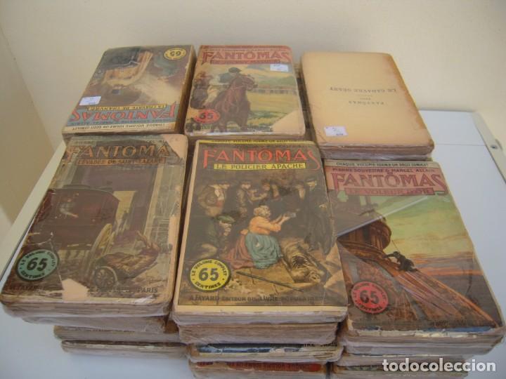 FANTOMAS SUPER LOTE DE 29 LIBROS EN FRANCES DE FANTOMAS (Libros antiguos (hasta 1936), raros y curiosos - Literatura - Terror, Misterio y Policíaco)
