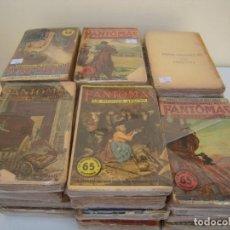 Libros antiguos: SUPER LOTE DE 29 LIBROS EN FRANCES DE FANTOMAS. Lote 137229346