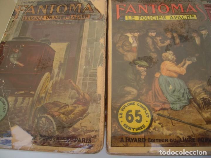 Libros antiguos: Fantomas super lote de 29 libros en frances de fantomas - Foto 2 - 137229346