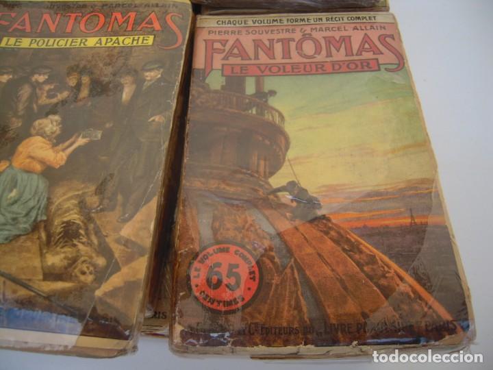 Libros antiguos: Fantomas super lote de 29 libros en frances de fantomas - Foto 3 - 137229346