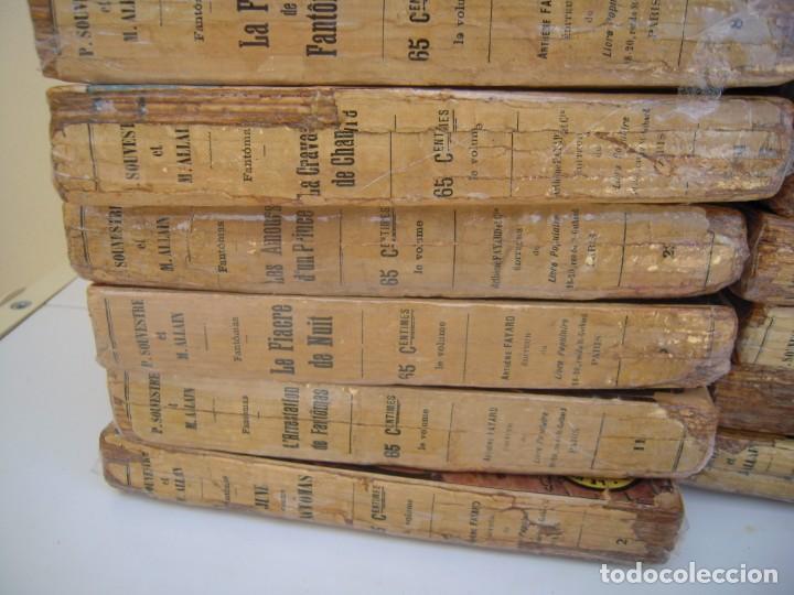 Libros antiguos: Fantomas super lote de 29 libros en frances de fantomas - Foto 5 - 137229346