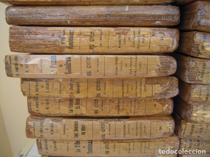 Libros antiguos: Fantomas super lote de 29 libros en frances de fantomas - Foto 6 - 137229346