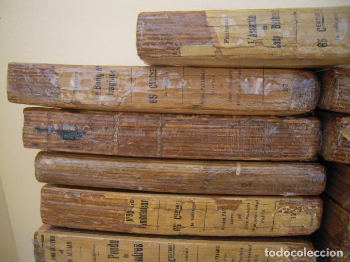 Libros antiguos: Fantomas super lote de 29 libros en frances de fantomas - Foto 7 - 137229346