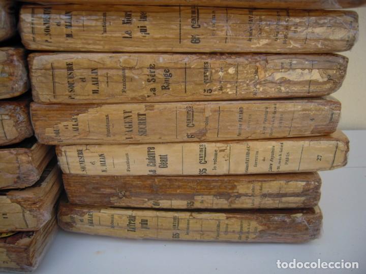 Libros antiguos: Fantomas super lote de 29 libros en frances de fantomas - Foto 8 - 137229346