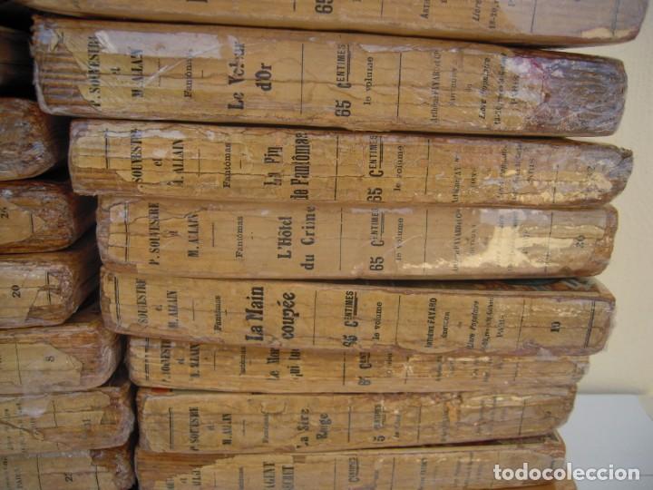 Libros antiguos: Fantomas super lote de 29 libros en frances de fantomas - Foto 9 - 137229346