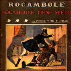 Alte Bücher - PONSON DU TERRAIL : ROCAMBOLE TIENE MIEDO (LA NOVELA ILUSTRADA, S.F.) - 138600762