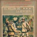 Libros antiguos: CONAN DOYLE : EL MILLÓN DE LA HEREDERA (LA NOVELA ILUSTRADA, S.F.). Lote 139204842