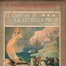 Libros antiguos: CONAN DOYLE : EL CAPITÁN DE LA ESTRELLA POLAR (LA NOVELA ILUSTRADA, S.F.). Lote 139204994