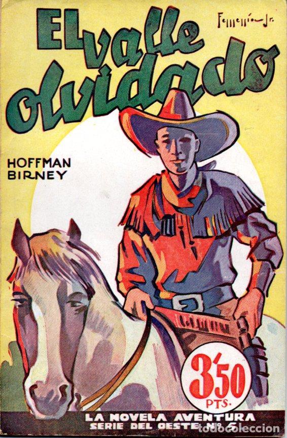 HOFFMAN BIRNEY : EL VALLE OLVIDADO (LA NOVELA AVENTURA HYMSA, S. F.) (Libros antiguos (hasta 1936), raros y curiosos - Literatura - Terror, Misterio y Policíaco)