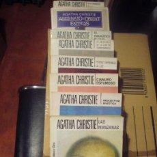 Libros antiguos: LOTE AGATHA CHRIS. Lote 141685822