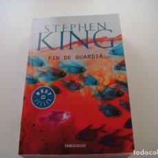 Libros antiguos: STEPHEN KING: FIN DE GUARDIA. Lote 142860690