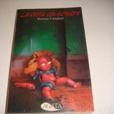 Libros antiguos: RAMSEY CAMPBELL: LA SECTA SIN NOMBRE. Lote 142863598