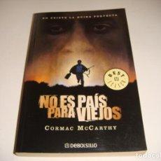 Libros antiguos: CORMAC MCCARTHY: NO ES PAÍS PARA VIEJOS. Lote 142863982
