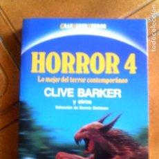 Libros antiguos: LIBRO HORROR 4, DE CLIVE BARKER LIBRO DE TERROR AÑO 1988 ,314 PAGINAS. Lote 142950558
