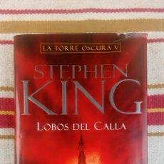 Libros antiguos: STEPHEN KING: LA TORRE OSCURA V; LOBOS DEL CALLA ; PLAZA JANES; DIBUJOS WRIGHTSON. Lote 142960610