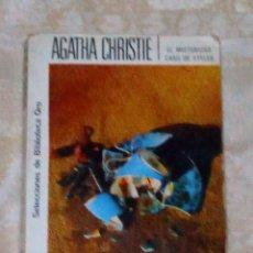 Libros antiguos: VENDO NOVELA DE AGATHA CHRISTIE (EL MISTERIOSO CASO DE STYLES). VER 2ª FOTO EN EL INTERIOR.. Lote 143165422