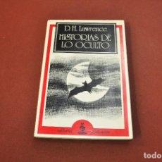 Libros antiguos: HISTORIAS DE LO OCULTO - LAWRENCE - NTB. Lote 144447394