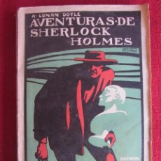 Libros antiguos: AVENTURAS DE SHERLOCK HOLMES. NUEVOS TRIUNFOS DE SHERLOCK HOLMES ED. PROMETEO. Lote 145206762