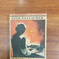 Libros antiguos: RAPSODIA EN SANGRE. COLECCIÓN ELEFANTE BLANCO. GALE GALLAGHER. Lote 145515510