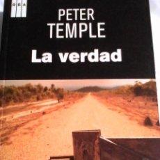 Libros antiguos: PETER TEMPLE. LA VERDAD.. Lote 147396054