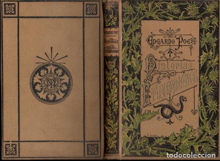 EDGARDO POE : HISTORIAS EXTRAORDINARIAS (ARTE Y LETRAS MAUCCI, S.F.) PRÓLOGO DE BAUDELAIRE (Libros antiguos (hasta 1936), raros y curiosos - Literatura - Terror, Misterio y Policíaco)