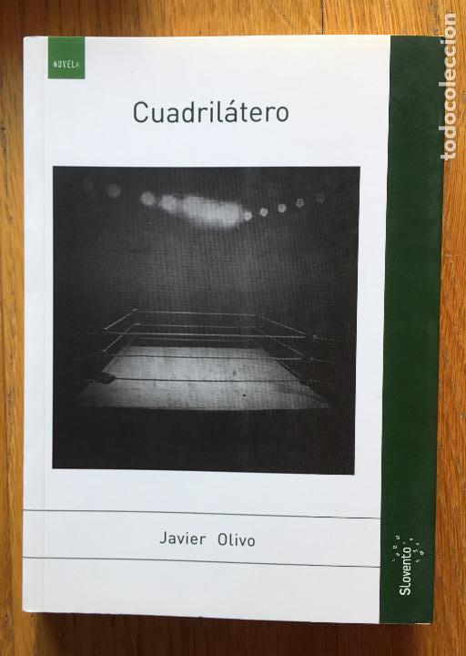 CUADRILATERO JAVIER OLIVO (Libros antiguos (hasta 1936), raros y curiosos - Literatura - Terror, Misterio y Policíaco)