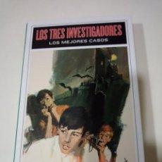 Libros antiguos: LOS TRES INVESTIGADORES LOS MEJORES CASOS ROBERT ARTHUR JR. -- MOLINO . Lote 151644290