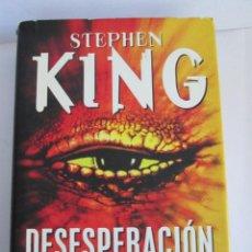 Libros antiguos: DESESPERACION - STEPHEN KING - 1996 - PLAZA JANES - TAPA DURA CON SOBRECUBIERTA - 612 PAGINAS. Lote 153182554