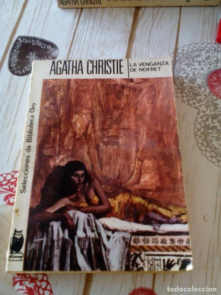 RA1_LIBRO VIEJO_AGATHA CHRISTIE ,MIDE 18X12, LA VENGANZA DE NOFRET 235 PAGINAS (Libros antiguos (hasta 1936), raros y curiosos - Literatura - Terror, Misterio y Policíaco)