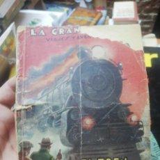 Libros antiguos: JACK STANLEY. - EL TREN DESCARRILADO. LA GRAN NOVELA. EDITORIAL GUERRI. Lote 154820030