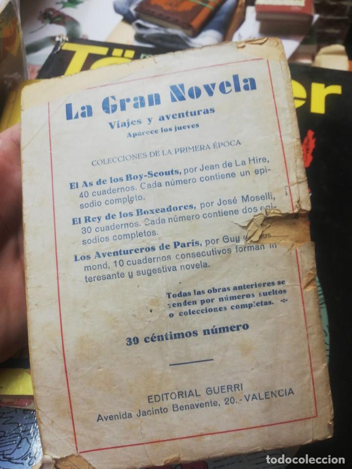 Libros antiguos: Jack Stanley. - El tren descarrilado. La gran novela. Editorial guerri - Foto 2 - 154820030