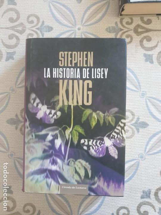 Libros antiguos: LOTE 5 LIBROS STEPHEN KING - Foto 4 - 155464426